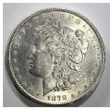 1878-CC MORGAN DOLLAR CH BU