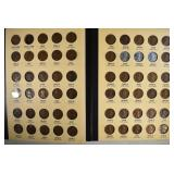 LINCOLN CENTS 1909-64 MISSING ONLY THE 1909-S VDB
