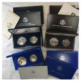 3 TWO-COIN PROOF SETS