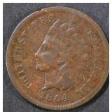 1864-L INDIAN HEAD CENT  FINE
