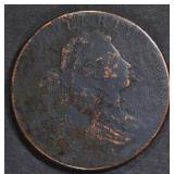 1798 LARGE CENT  FINE - SOME SURFACE ISSUES