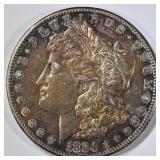 1884-S MORGAN DOLLAR  LOVELY ORIGINAL UNC