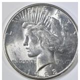 1923-S PEACE DOLLAR  GEM BU