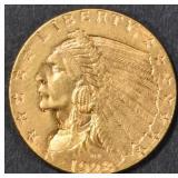 1928 GOLD $2.5 INDIAN  GEM BU