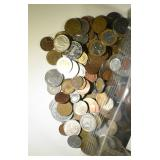 15 POUNDS FOREIGN COINS