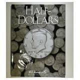 KENNEDY HALF DOLLAR ALBUM 36 COINS (1964-1968)