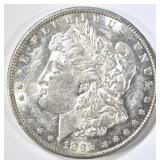 1892-O MORGAN DOLLAR CH BU