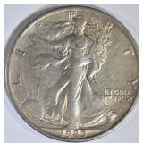 1920 WALKING LIBERTY HALF DOLLAR  CH AU