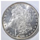 1878 7TF REV 78 MORGAN DOLLAR  CH BU
