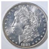 1881-O MORGAN DOLLAR  CH BU