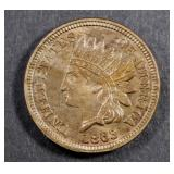 1863 INDIAN CENT BU