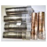 U.S. COIN ROLL LOT: