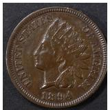 1894 INDIAN CENT AU
