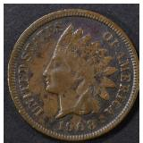 1908-S INDIAN CENT F/VF