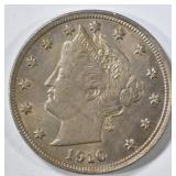1910 LIBERTY NICKEL BU