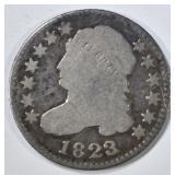 1823/2 BUST DIME GOOD