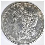 1886-S MORGAN DOLLAR CH AU