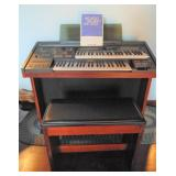 Yamaha Electone Modlel-MC-400C Organ with bench