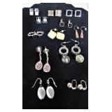 12 Sets of Pierced Earring