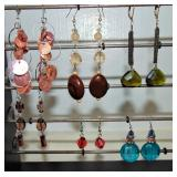 6 Pair Dangly Earrings