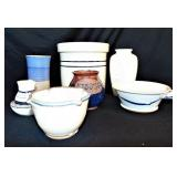 8 piece Pottery Lot