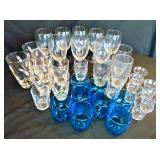 34 Pieces Assorted Glassware