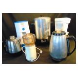 Lot 6 Mr Coffee Tea  Grinder Perculator