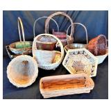 Lot of 15 Baskets including Longaberger
