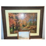 4 Framed Landscapes 1 - Oil Painting