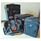 3 Piece Jaguar Luggage & am American Tourist