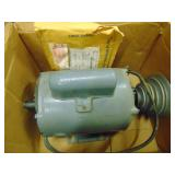 1/2 HP Motor with Connections 3450 RMP