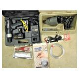 Drill, Soldering Iron, Engraver & More
