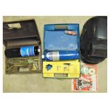 Propane Torches & Welding Helmet