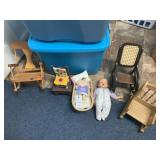 Baby Doll, Mini Rocking Chairs