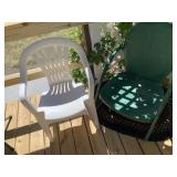 Several Assorted Patio Chairs