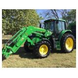 LARGE Farm Auction: Tractors, ATVs, Trls, Vehicles, Cattle/Farm Equip, Feeders, Cattle Panels/Gates