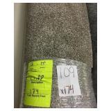 12ft x 14ft 6in roll of carpet x174 sq ft