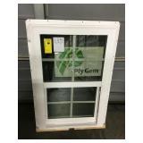 Plygem single hung window.