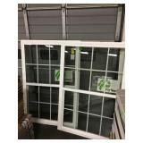 Ply gem vinyl si gel hung window x2