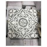 Soci Cement Pattern 8x8 Heirloom Tile x 37 boxes