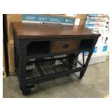Whalen Industrial Metal & Wood Workbench