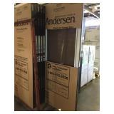 """Andersen 36"""" x 80"""" White Storm Door"""