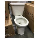Gerber Dual Flush Round Bowl 2 Piece Toilet