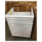 Cascade White Vanity Cabinet