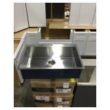 """Kraus 33"""" Top Mount Kitchen Sink"""