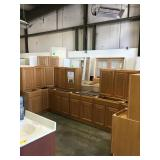 "30"" Regal Oak 16 Piece Kitchen Set"