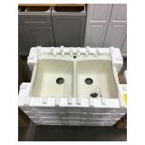 Tuscany composite sink x 2