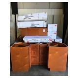 Mixed Cherry Cabinets for One Money