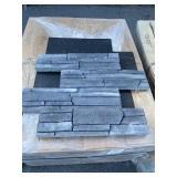 "6"" x 24"" Ledgestone Flat Panel x19 boxes"