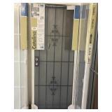 """32"""" Catalina Black Security Storm Door"""